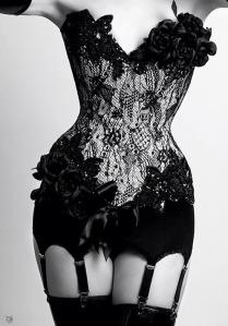 escort ibiza fancy lace corset