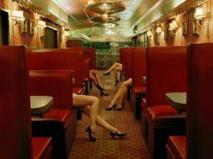 sexy legs ibiza escort railway carriage