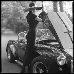 ibiza escort sexy woman sexy car vintage