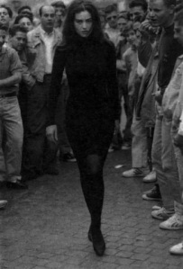 black sweater dress marbella escort