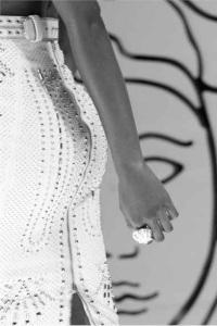 white sequin dress marbella escort