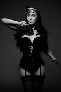 escort ibiza corset mask