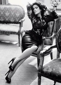 escort marbella leather skirt