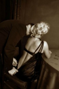 unzipping marbella escort satin dress