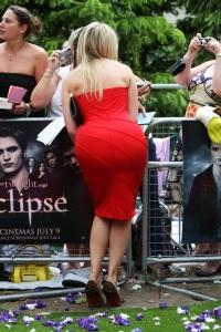 marbella escort great arse in tight red dress