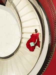 marbella escorts red evening dress