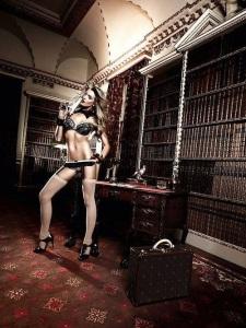 escort marbella sexy lingerie in library