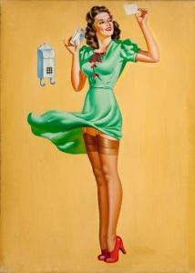 marbella escort 1950s pinup