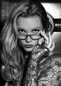 sexy geek in glasses and lace top mature escorts