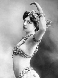 mata hari belly dancing